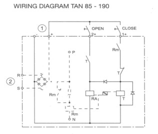 Latching Contactor Wiring Diagram from www.pc-s.com