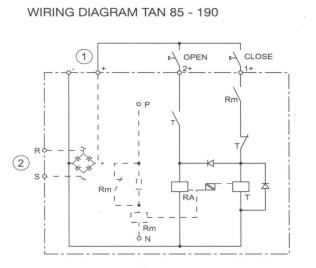 standard contactor wiring diagram panel components   systems sitemap  panel components   systems sitemap
