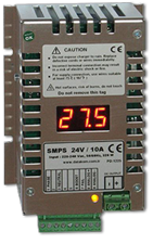 SMPS-1210/2410 Switchmode Battery Chargers with Display